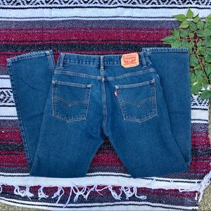 Levi's high waisted knit jeans